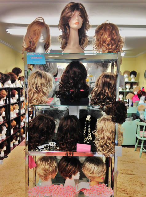 Ginnys Wigs in Gastonia, NC is located only 20 minutes from